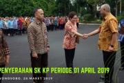 Penyerahan SK KP Periode April 2019