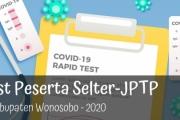 Peserta Selter-JPTP diwajibkan Rapid Test