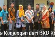 Menerima Kunjungan dari BKD Kab. Kediri