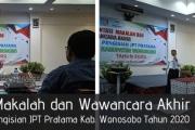 Presentasi Makalah dan Wawancara Akhir