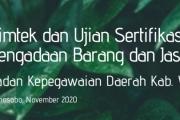 Bimtek Pengadaan Barang/Jasa th. 2020
