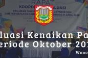 Rakor Evaluasi KP Oktober 2019