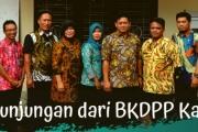 Menerima Kunjungan dari BKDPP Kab. Jombang