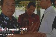 Penyerahan SK CPNS Formasi 2018