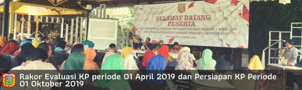 Rakor Evaluasi KP April 2019
